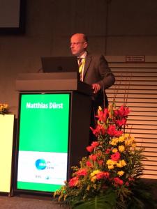 Prof. Dürst auf dem Deutschen Kresbkongress