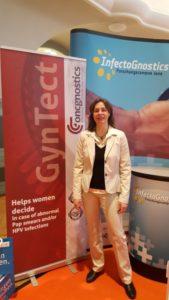 GynTect-Stand auf den Biotechnologietagen Leipzig 2016