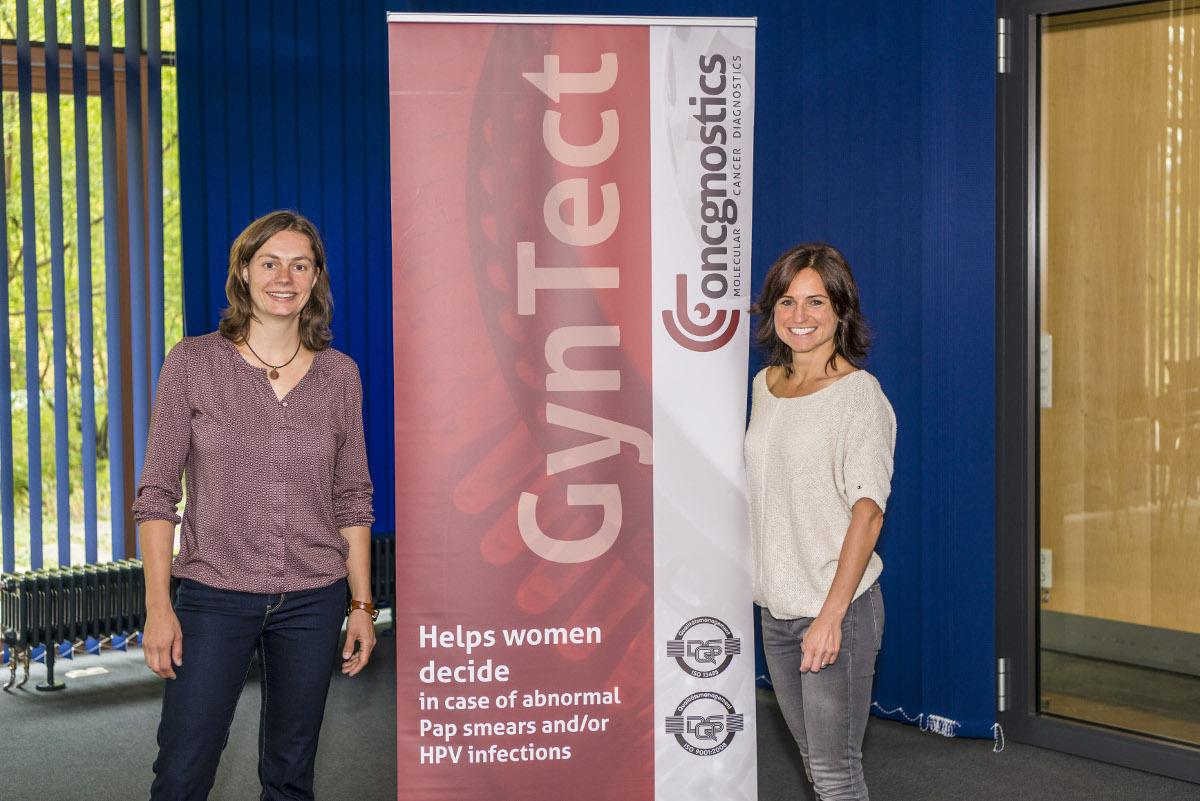GynTect-Botschafterin Andrea Henkel