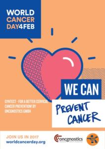 Oncgnostics-Poster zum Weltkrebstag