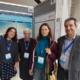 Dr. Martina Schmitz (2.v.re.) mit portugiesischen Mitarbeiterin von Unilabs