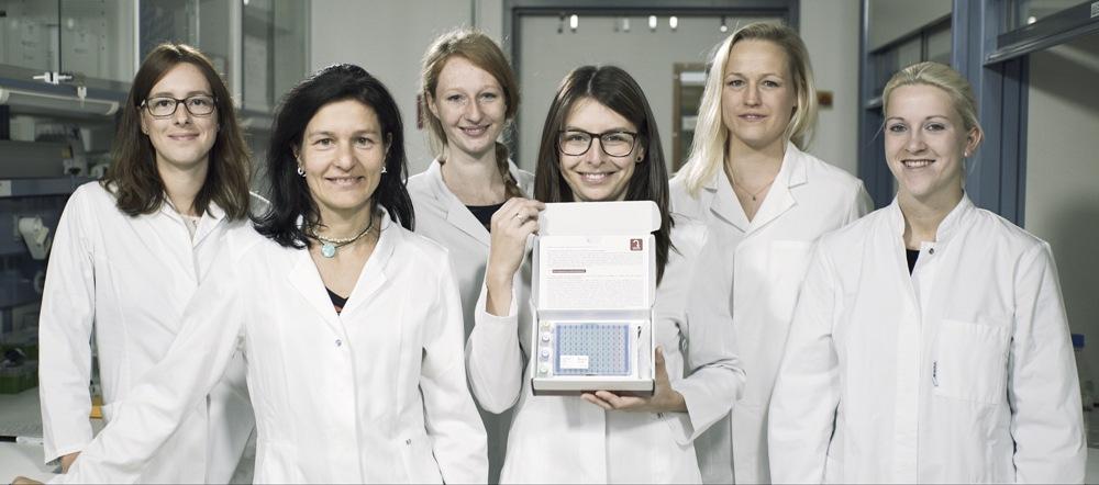 Das Laborteam von oncgnostics mit GynTect