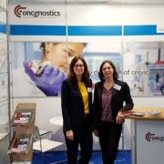 oncgnostics-Stand auf der medica
