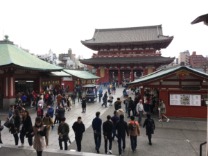 Asakusa Tempel in Tokyo