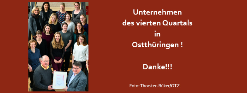 Unternehmen in Ostthüringen