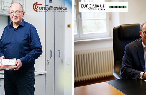 Vertriebspartnerschaft zwischen der oncgnostics GmbH und der EUROIMMUN Medizinische Labordiagnostika AG
